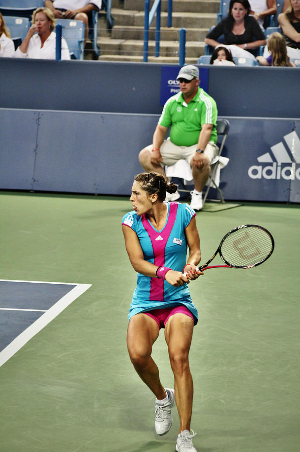 Wta Photograph - Andrea Petkovic by Rexford L Powell