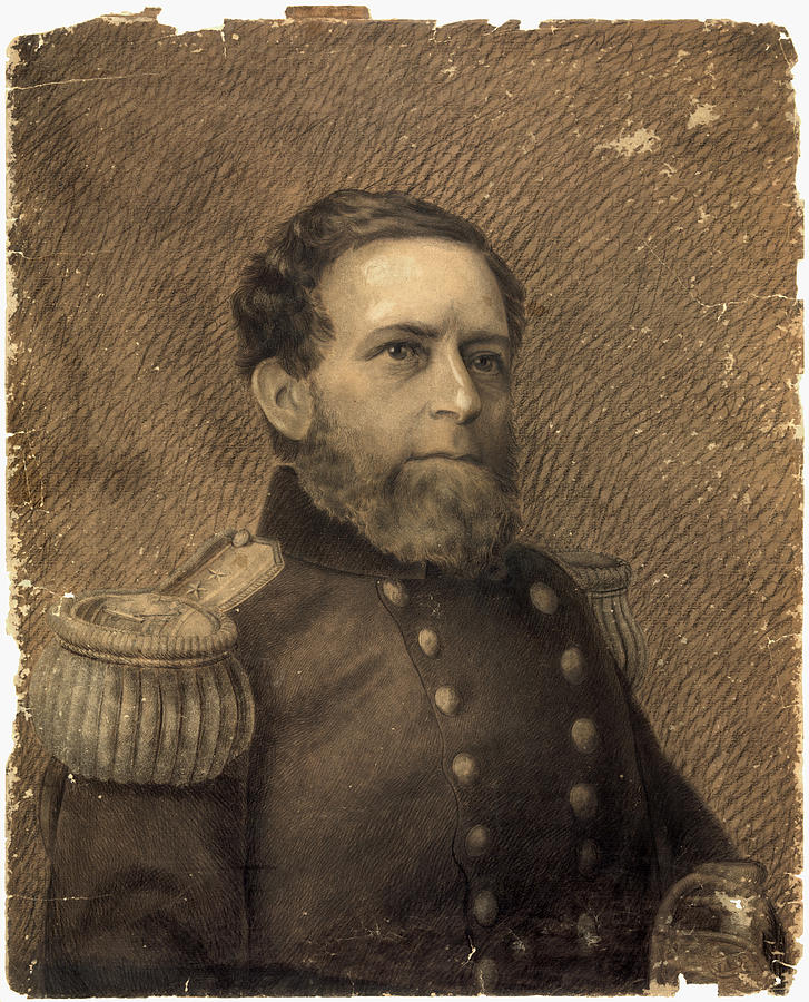 1875 Drawing - Andrew Hull Foote (1806-1863) by Granger