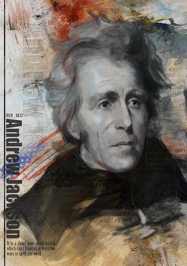 Andrew Jackson Painting - Andrew Jackson by Corporate Art Task Force