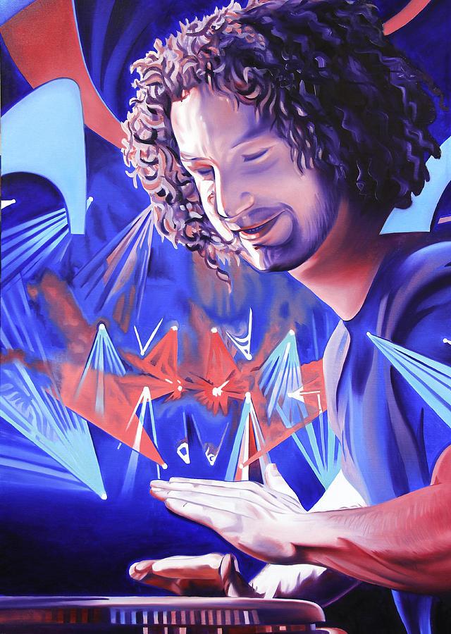 Andy Farag Painting - Andy Farag  by Joshua Morton