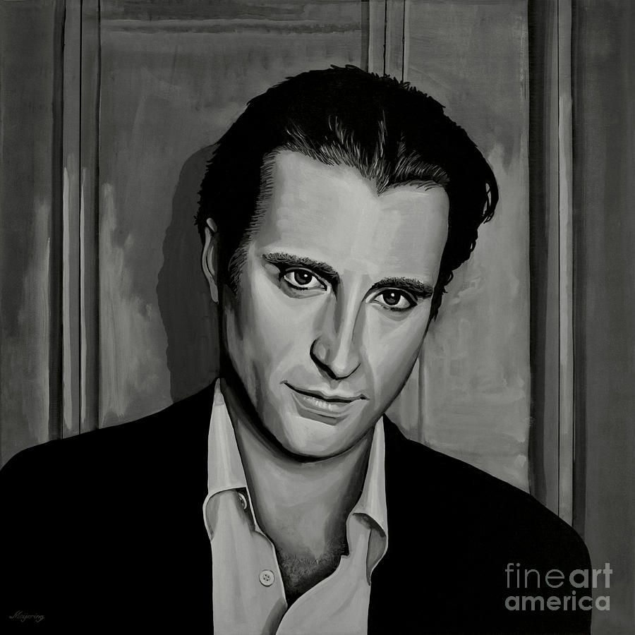 Andy Garcia Painting - Andy Garcia by Paul Meijering