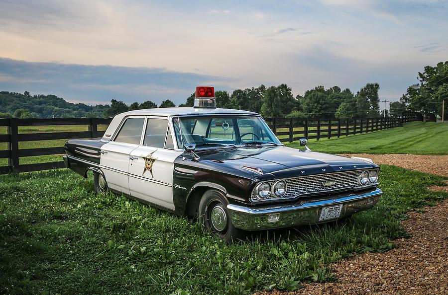 Car Photograph - Andys Car by EG Kight