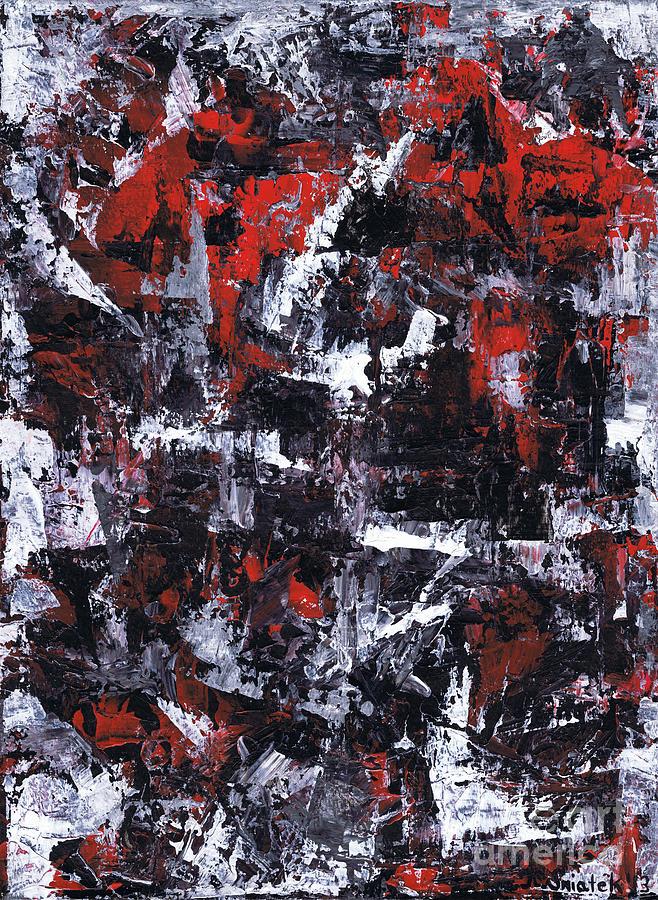 Aneurysm Painting - Aneurysm 1 - Middle by Kamil Swiatek