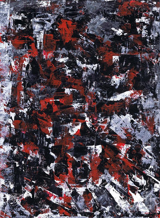 Aneurysm Painting - Aneurysm 1 - Right by Kamil Swiatek