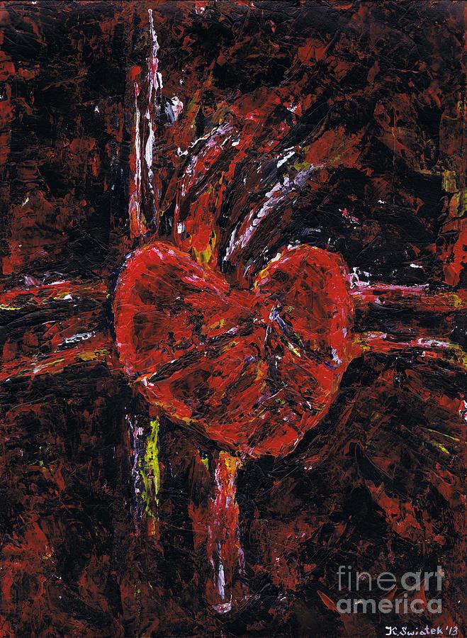 Aneurysm Painting - Aneurysm 2 - Middle by Kamil Swiatek