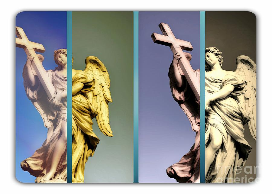 Angels Photograph - Angel And Supernatural by Stefano Senise