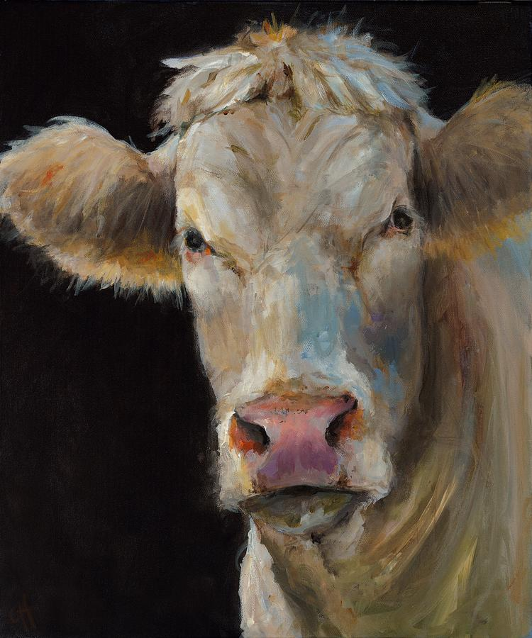 Bovine Painting - Angel by Cari Humphry