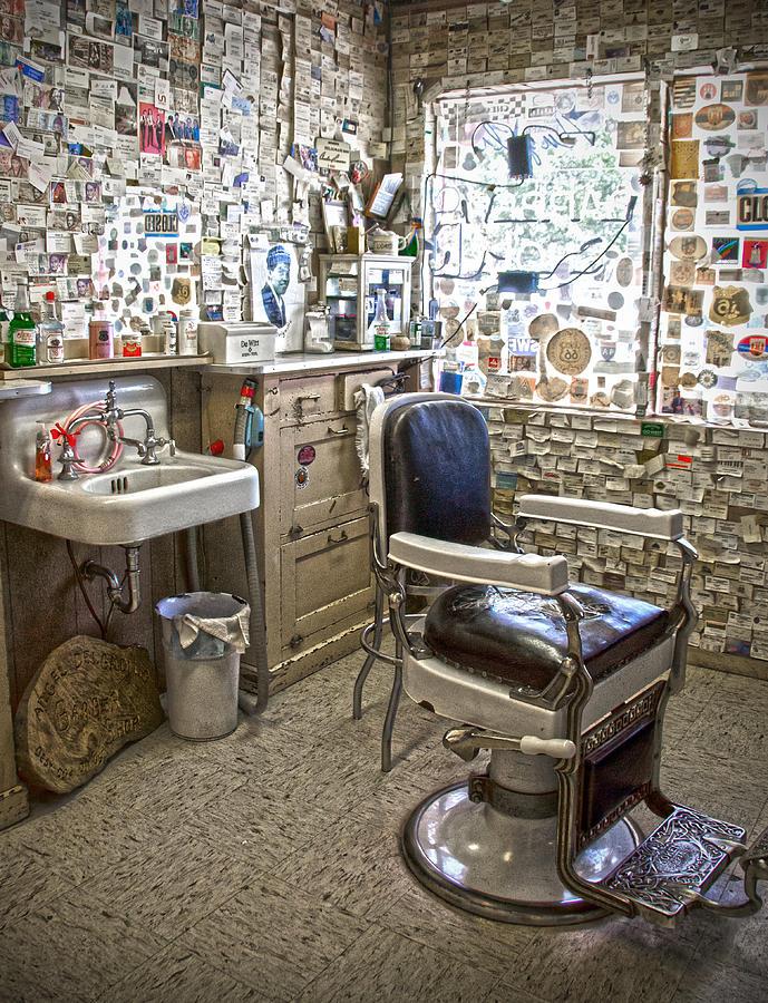 Barber Shop Photograph - Angel Delgadillos Barber Shop by RicardMN Photography