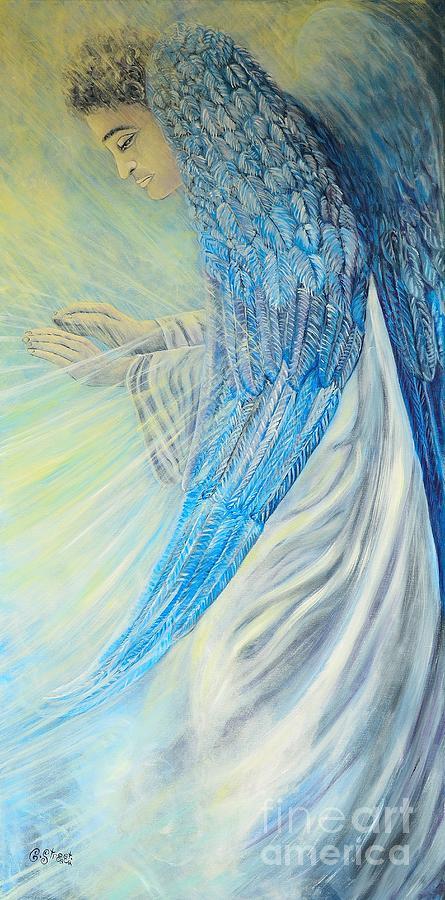 Angel Painting - Angel Divine by Caroline Street