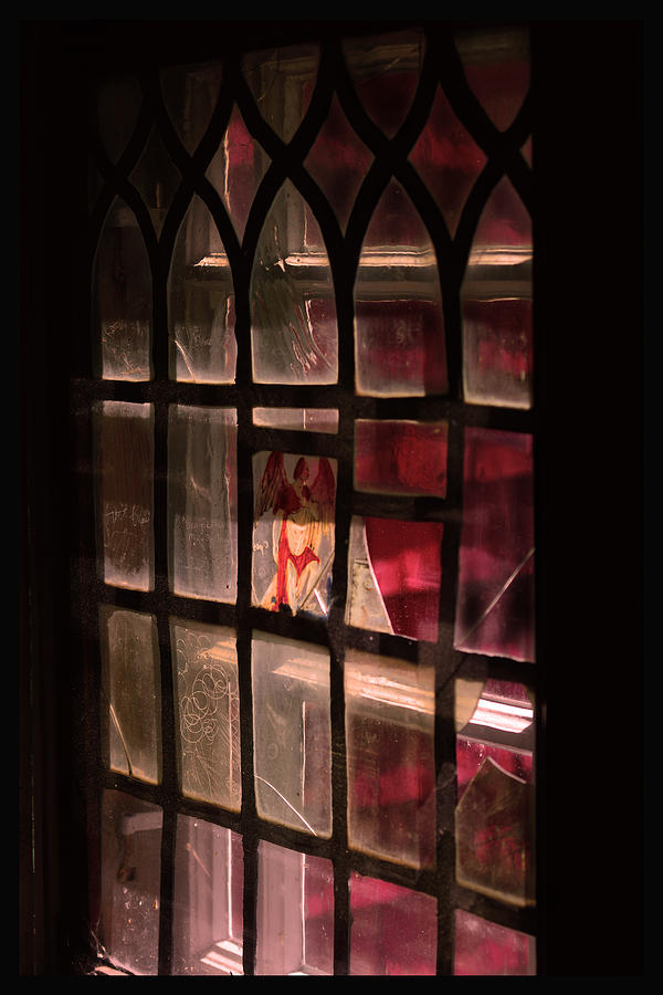 Advent Photograph - Angel In The Window by Tommytechno Sweden