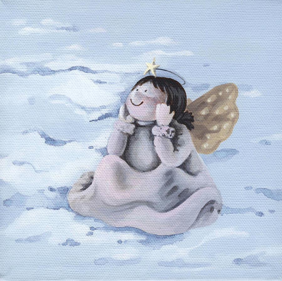 Angel Painting - Angel by Natasha Denger