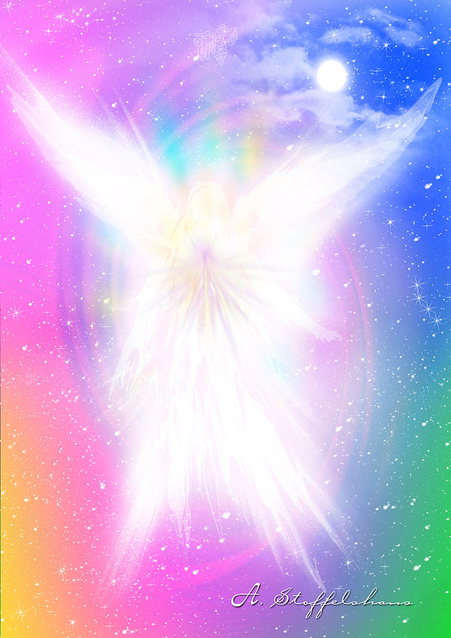 Angel Digital Art - Angel Of Concord by Anderson Stoffelshaus