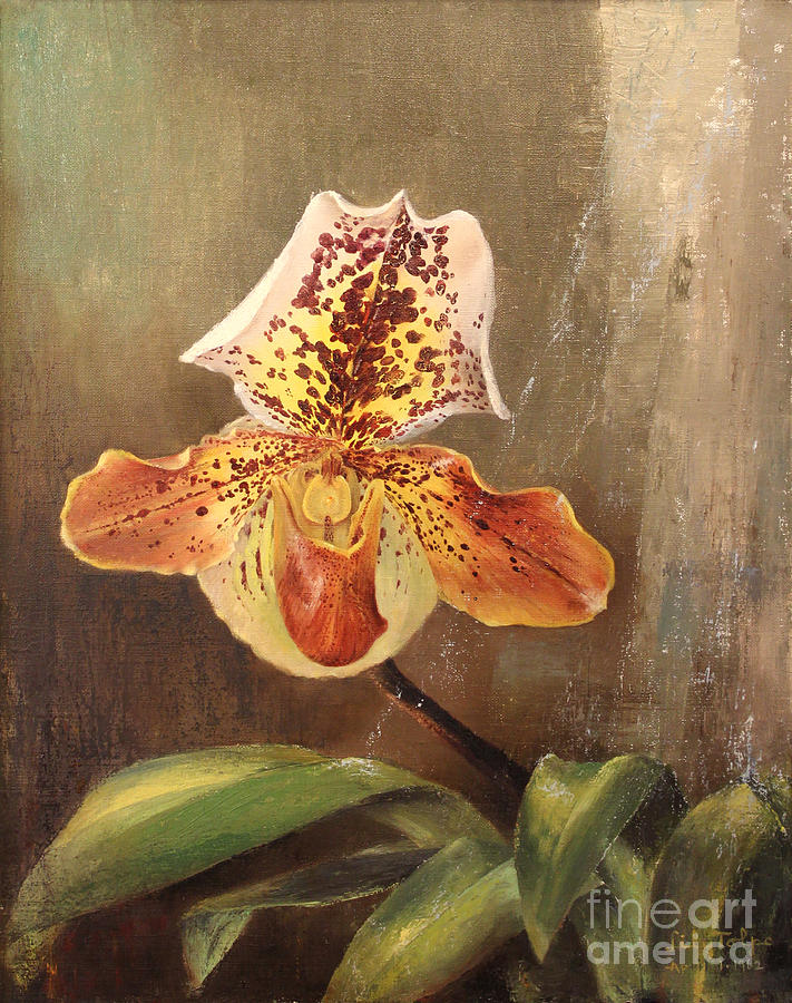 Angel Orchid by Art By Tolpo Collection