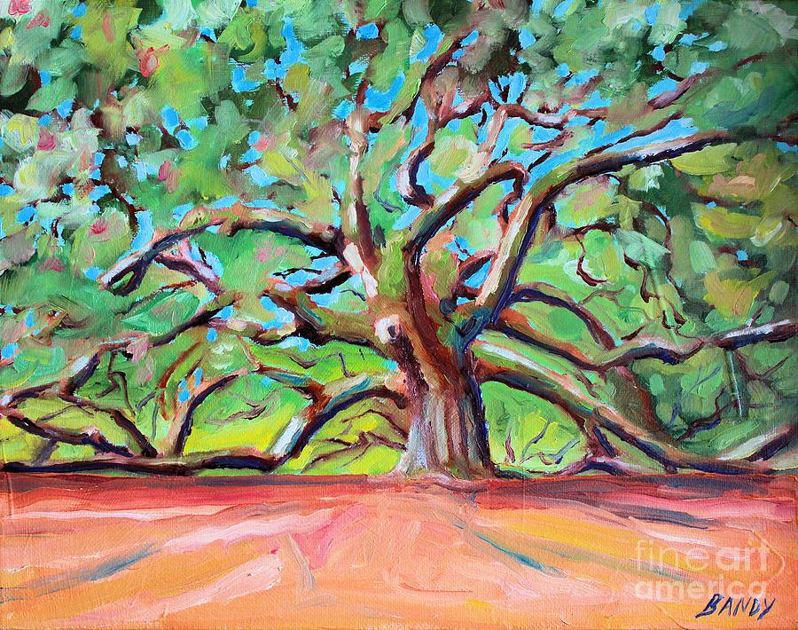 Angel Tree Charleston South Carolina Painting By Todd Bandy