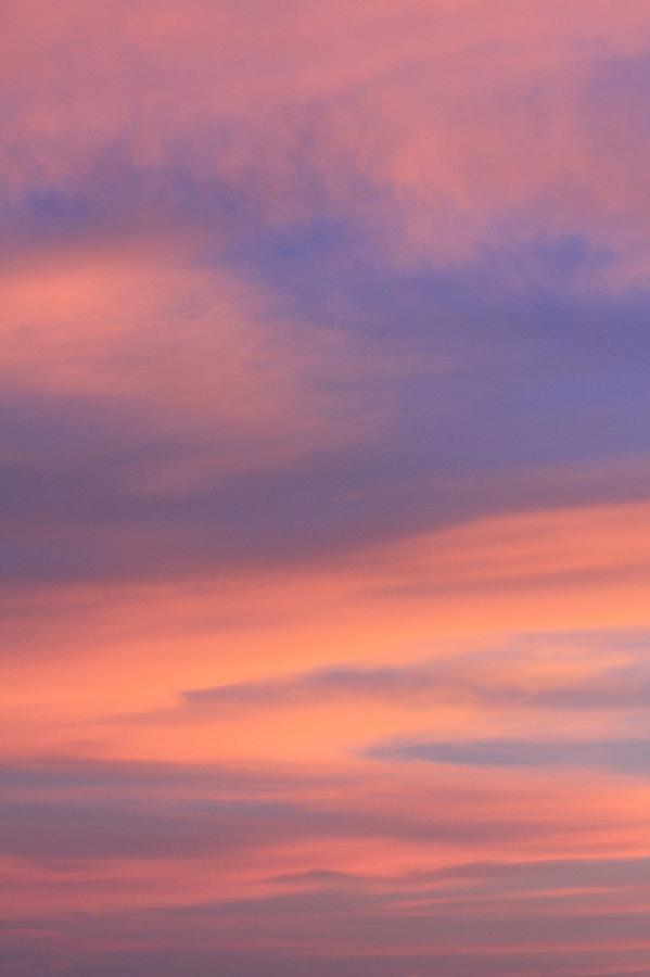 Sunset Photograph - Angeles Crest Sunset by Sarah Vandenbusch