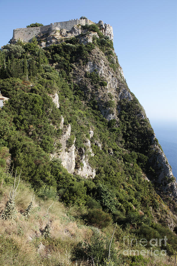 Angelo Photograph - Angelo Castle Corfu Greece by Neil Overy