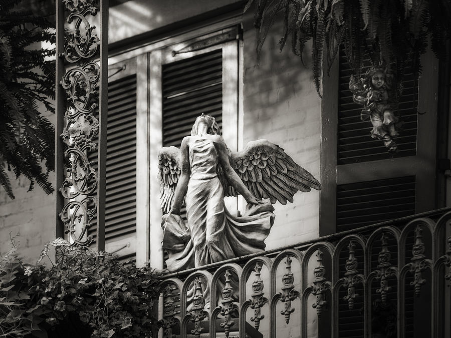 French Quarter Photograph - Angels  by Brenda Bryant