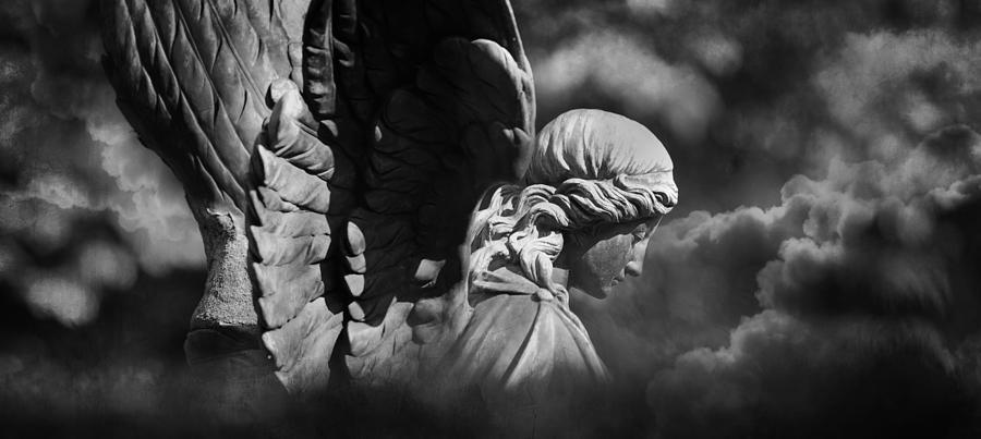 Angel Photograph - Angels Flight by Marc Huebner