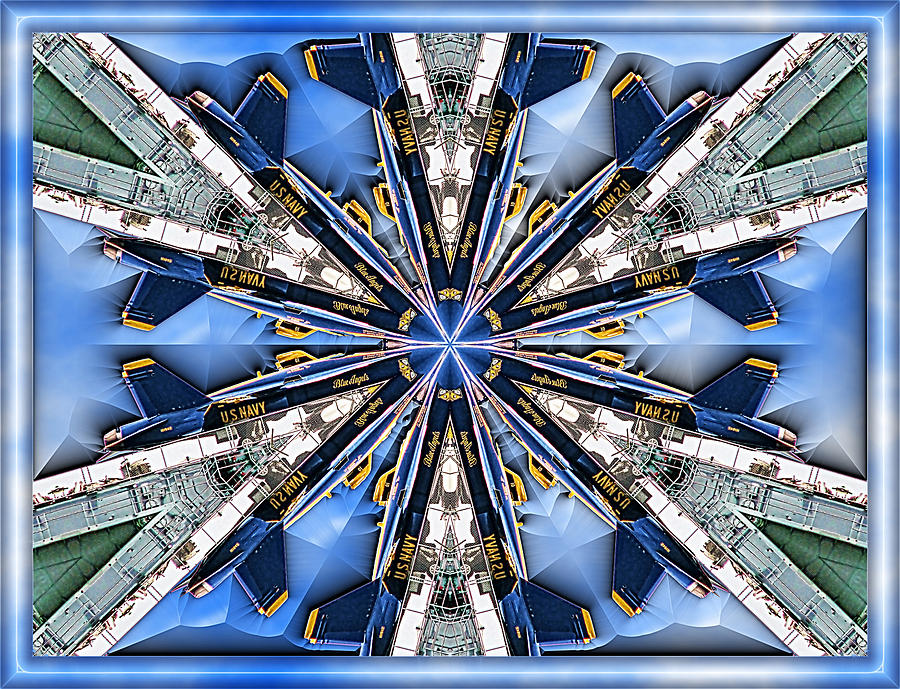 Blue Angels Digital Art - Angels by Wendy J St Christopher