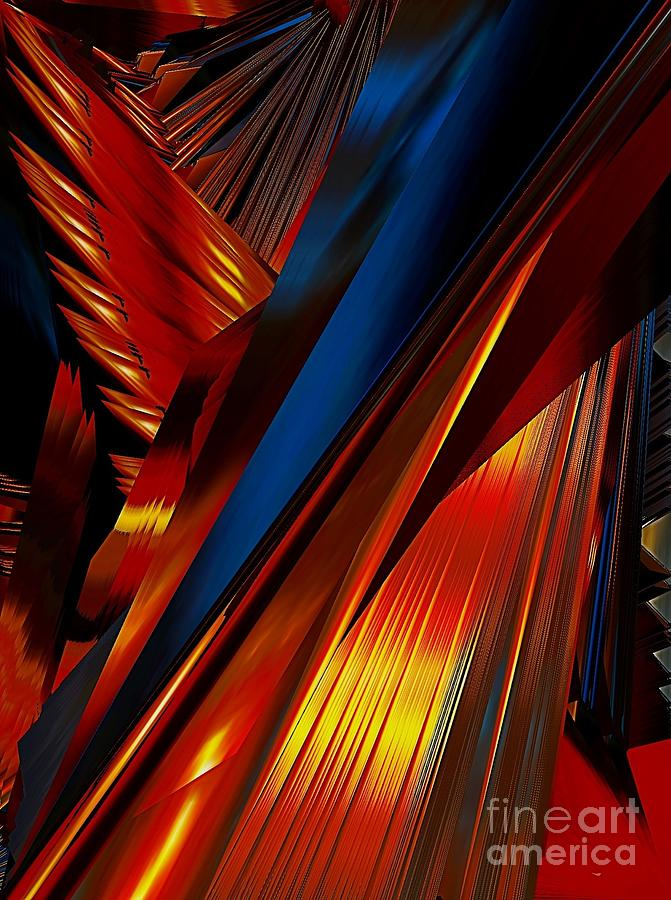 Abstract Photograph - Angels Wing by Karen Newell