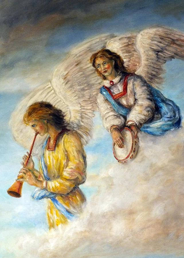 картинки трубящий ангел самым лучшим