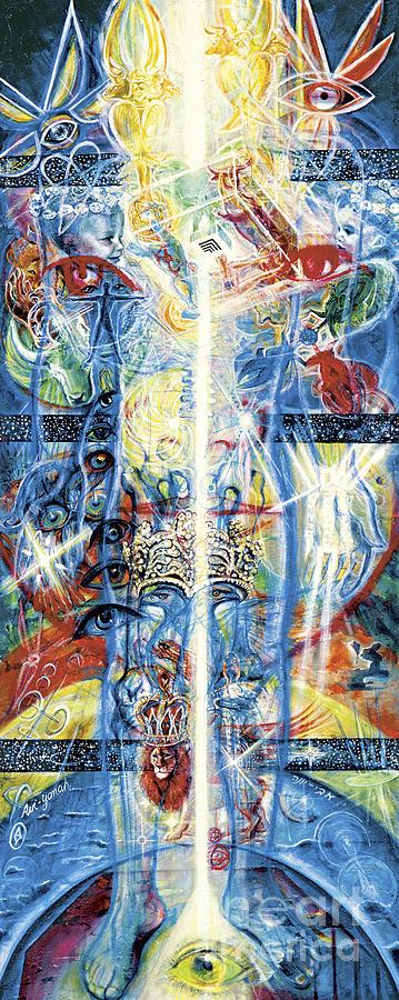 Angels Painting - Angels by Yael Avi-Yonah