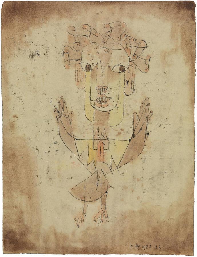 Angelus Novus Painting