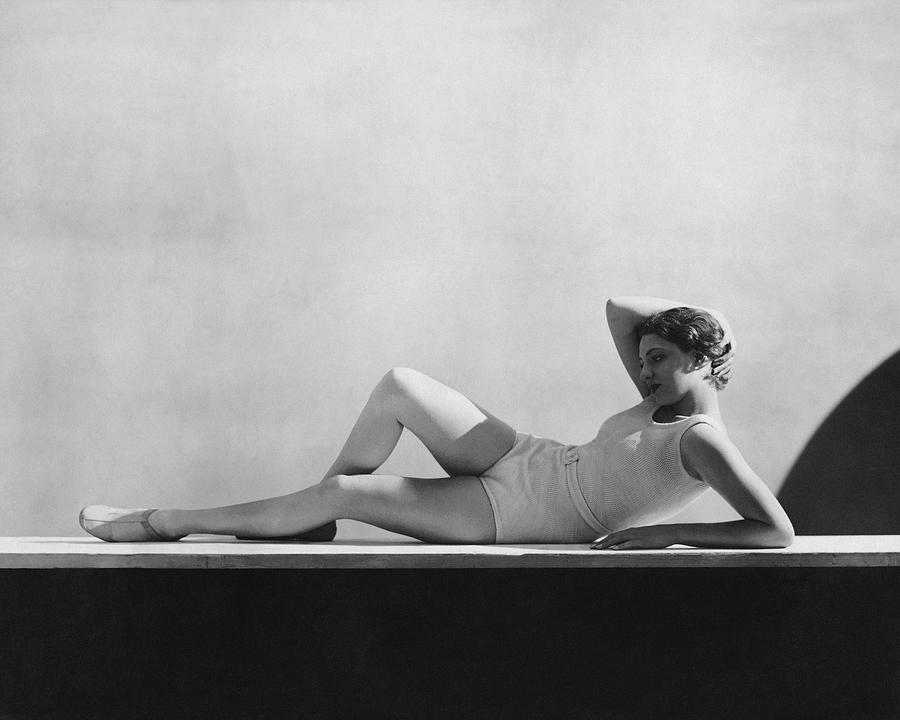 Angeta Fischer In Schiaparelli Photograph by George Hoyningen-Huene