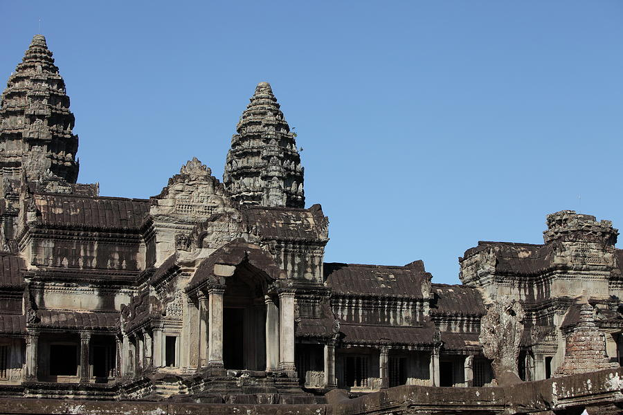 Angkor Wat Temple, Cambodia Photograph by  Laurent