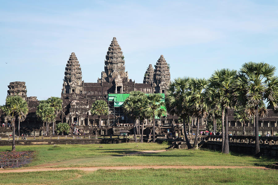 Angkor Wat Photograph by Thant Zaw Wai