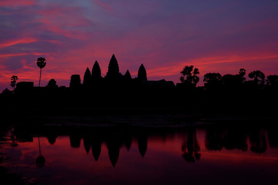 Angkor Wat, The Mandatory Shot Photograph by Patrick De Talance Getty