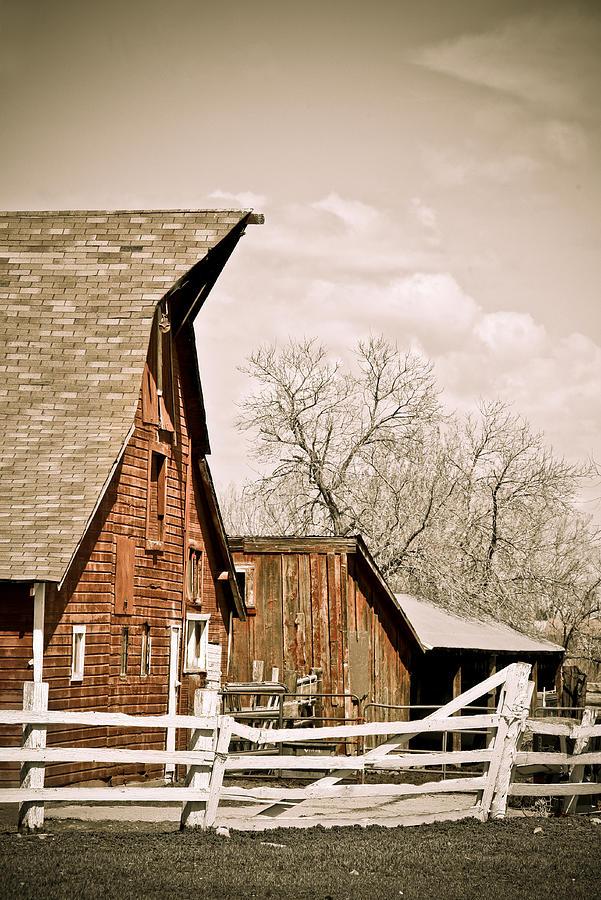 Americana Photograph - Angle Top Barn by Marilyn Hunt