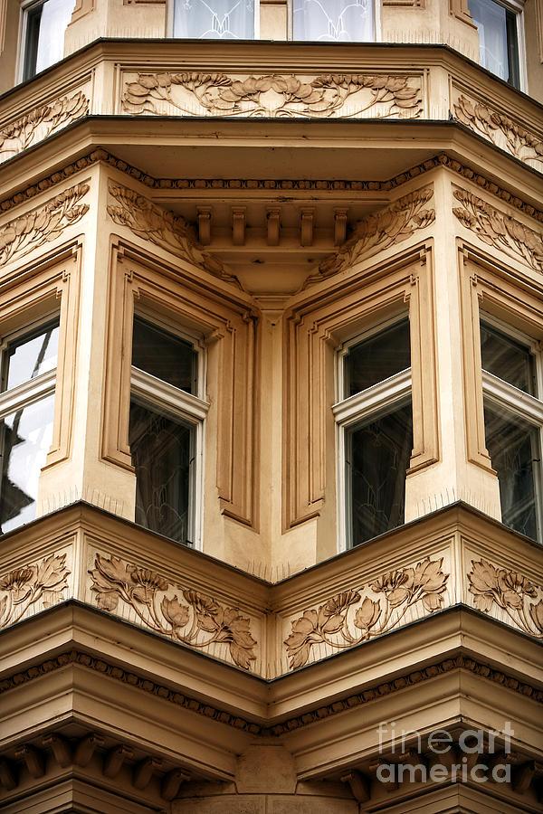 Angled Windows Photograph - Angled Windows by John Rizzuto