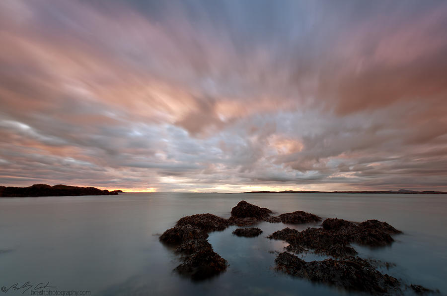 Rhosneigr Photograph - Anglesey Sunset by Beverly Cash