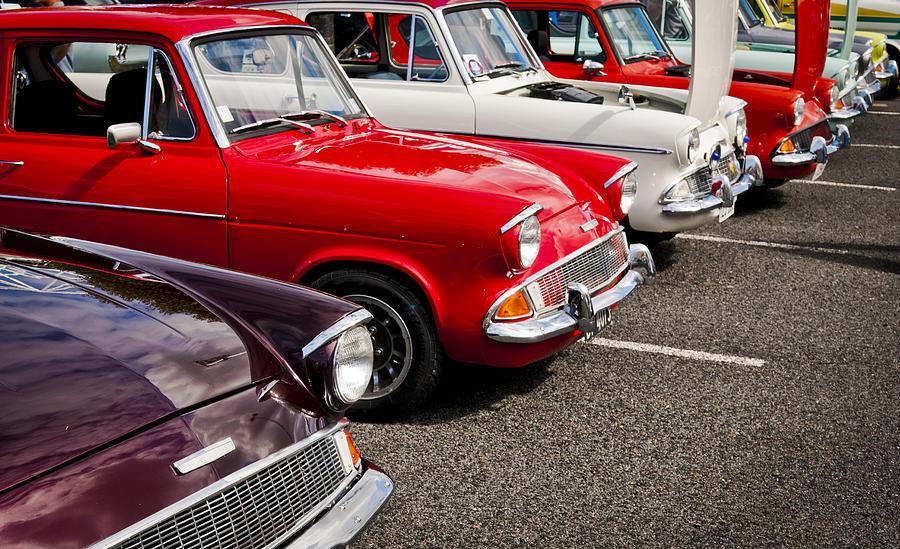 Ford Anglia Photograph - Anglia Club by motography aka Phil Clark