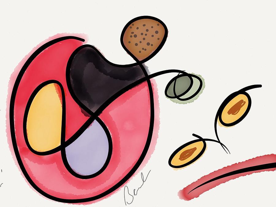 Angry Face Digital Art - Angry Ideas by Barbara Marlin