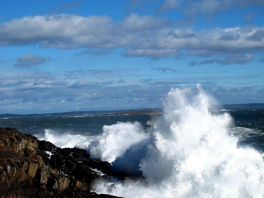 Angry Shores Photograph