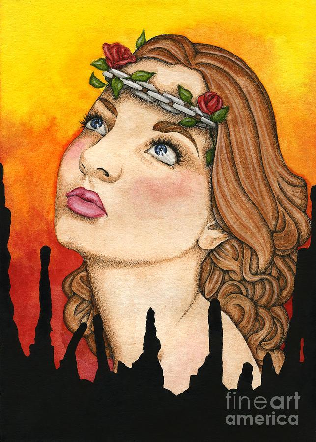 Anima Painting - Anima Sola by Nora Blansett