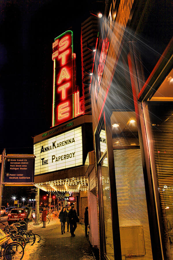 State Theater Marquee Photograph