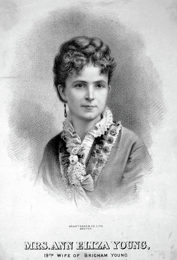 1875 Painting - Ann Eliza Young (1844-1925) by Granger