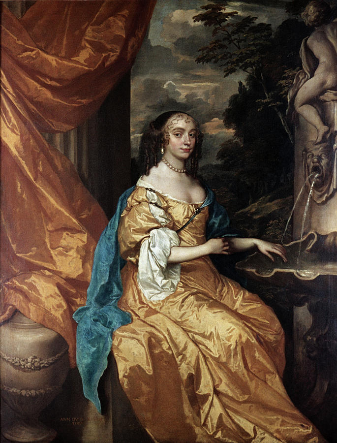 Ann Painting - Ann Hyde, Duchess Of York (1637-1671) by Granger