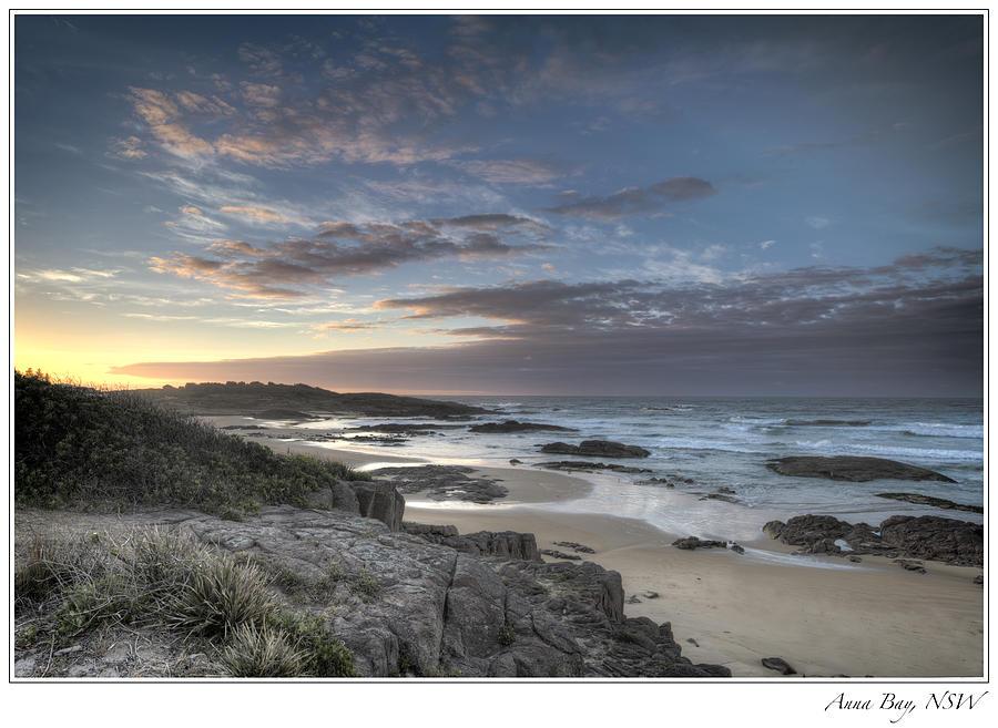 Sunrise Photograph - Anna Bay Sunrise by Steve Caldwell