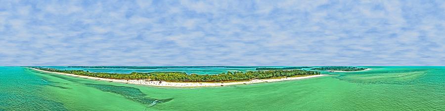 Anna Maria Island Sky View by Rolf Bertram