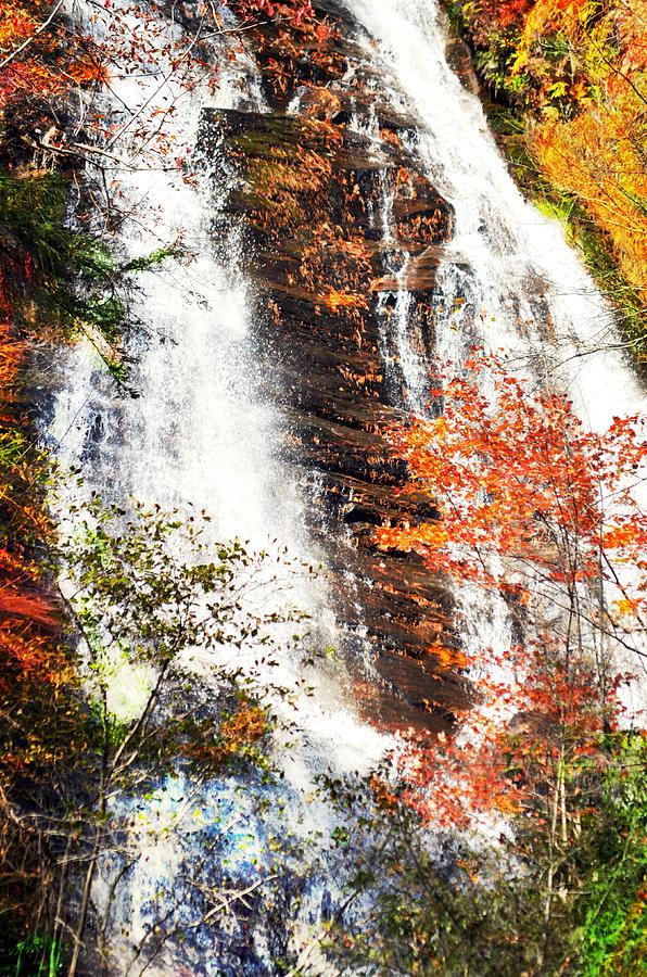 Waterfall Photograph - Anna Ruby Falls....... by Tanya Tanski