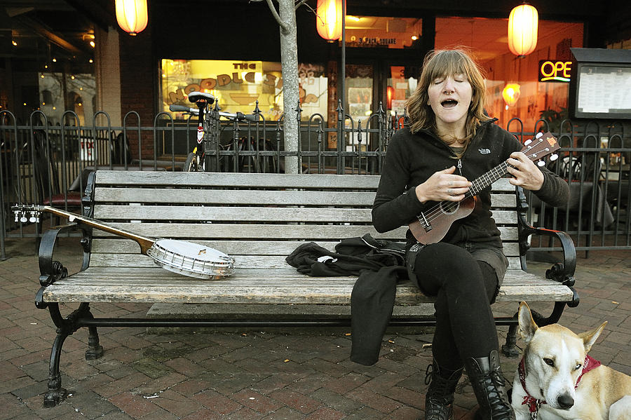 Busker Photograph - Annabelle by Joe Longobardi