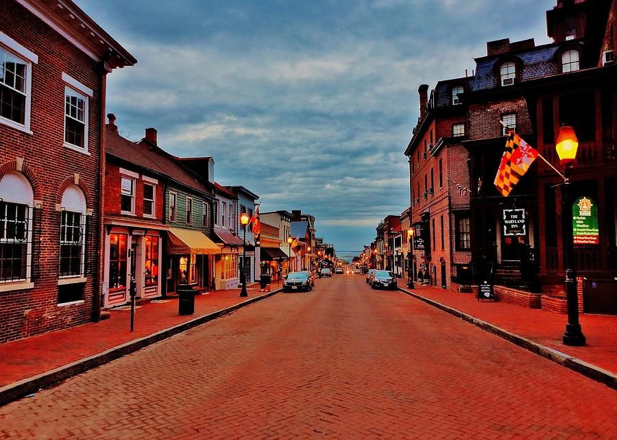 Annapolis Photograph - Annapolis by Benjamin Yeager