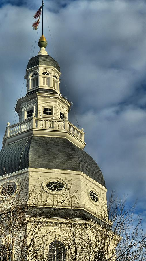 Annapolis Statehouse Photograph