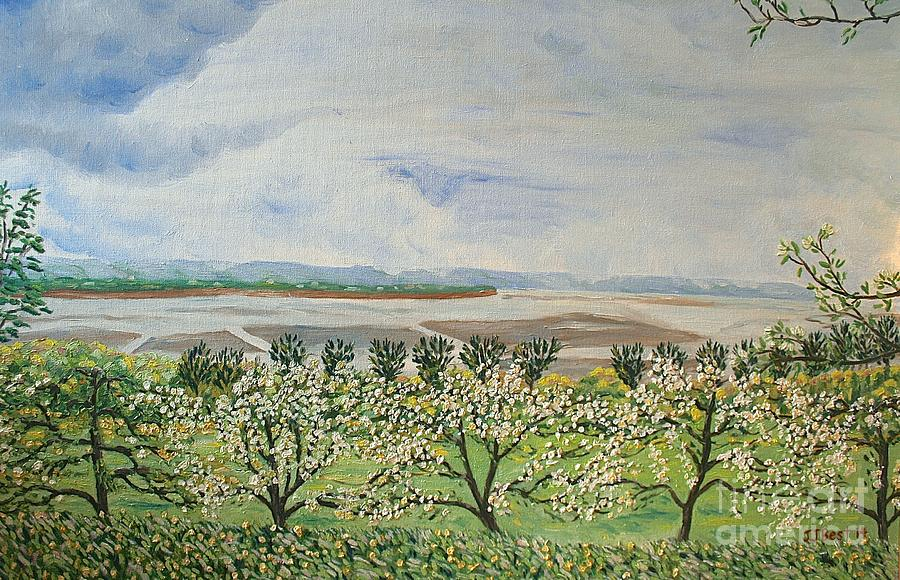 Apple Blossoms by Janice Best