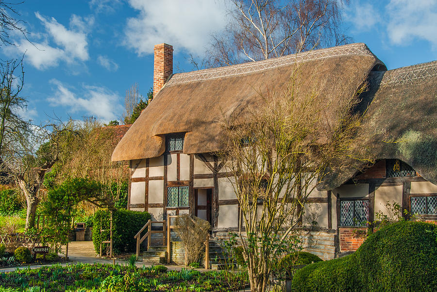 Anne Hathaway Photograph - Anne Hathaways Cottage by David Ross