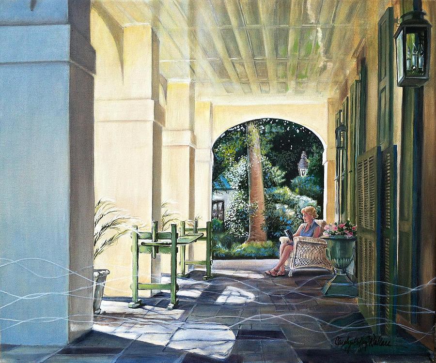 Anne in Charleston by Carolyn Coffey Wallace